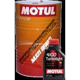 Масла MOTUL 4100 Turbolight 10W-40