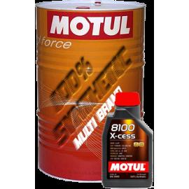 Масла MOTUL 8100 X-cess 5W-40