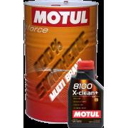 Масла MOTUL 8100 X-clean+ 5W-30