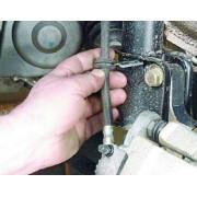 Шланг тормозной передний - замена