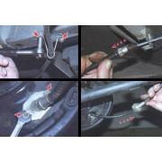 Трос ручного тормоза - замена