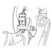 Датчик педали тормоза - замена