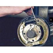 Цилиндр тормозной задний - замена